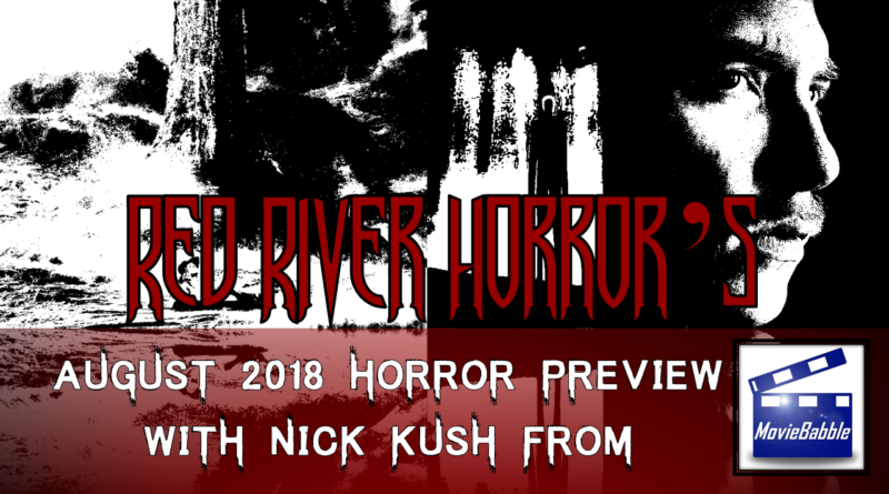 Red River Horror Cover - August 2018