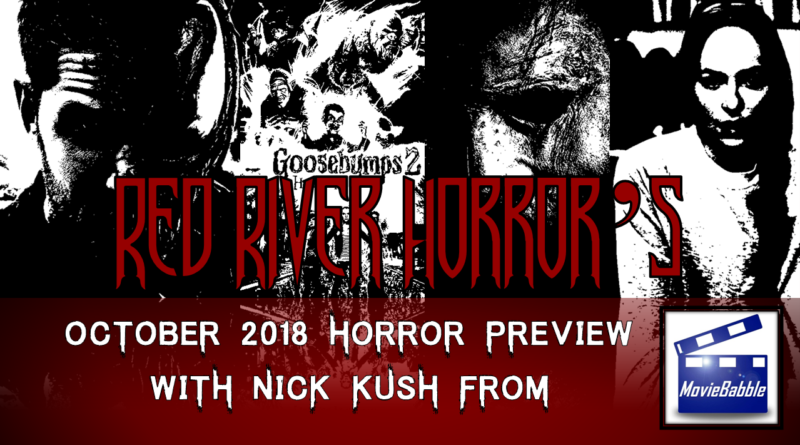 Red River Horror - Cover - October 2018