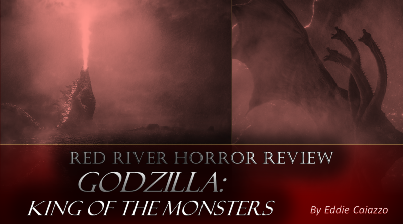Godzilla King of the Monsters Cover - Red River Horror