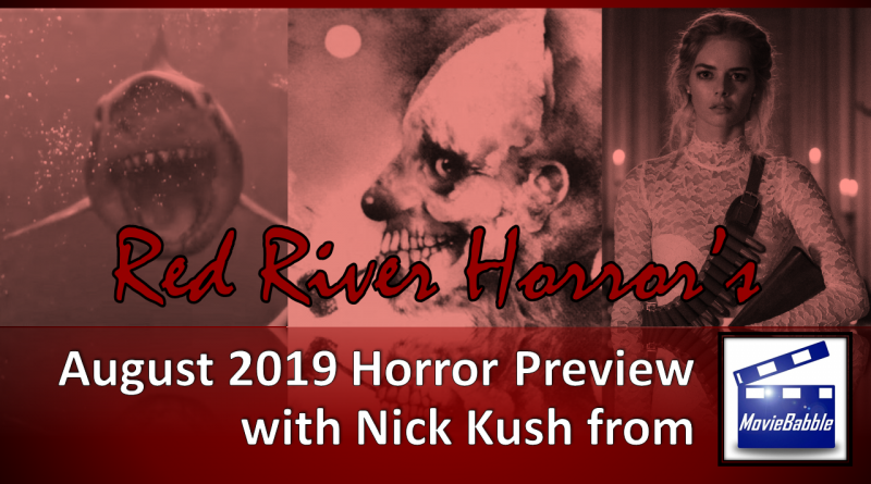 Red River Horror - August 2019 Cover