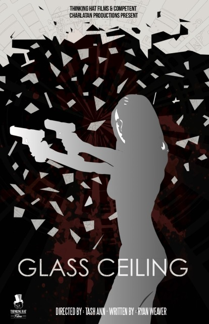 Glass Ceiling Poster - Red River Horror