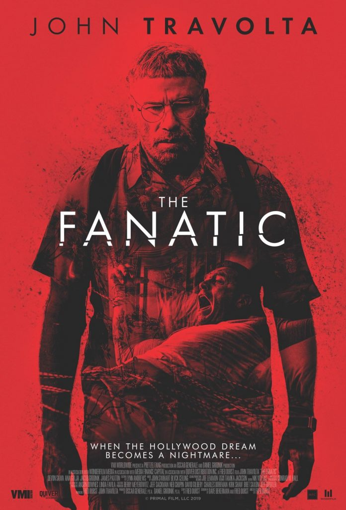The Fanatic Movie Poster - Red River Horror