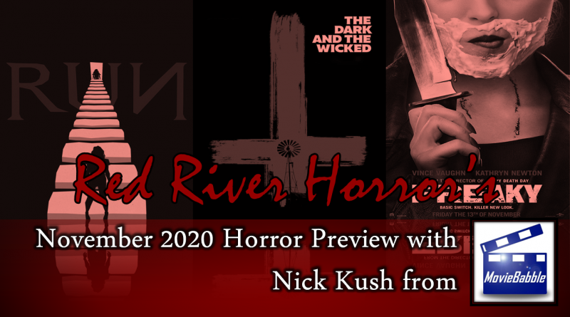 November 2020 Horror Preview - Red River Horror