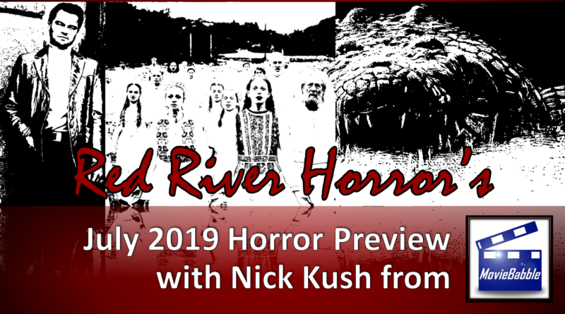 Red River Horror - July 2019 Cover